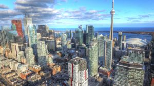 drone photography in Toronto